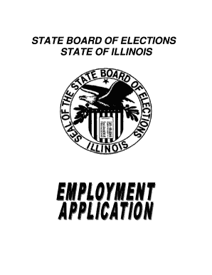 Bill Of Sale Form Illinois Employment Application
