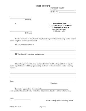 137 Printable Affidavit Of Truth Forms and Templates