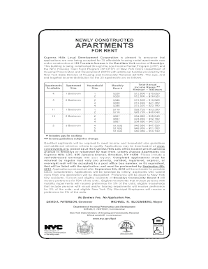 21 Printable application low income apartment Forms and