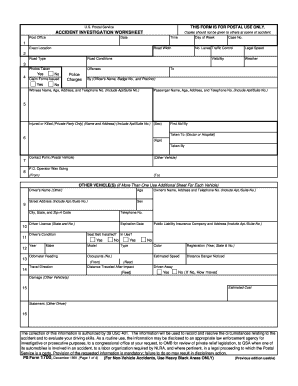 Ps Form 1700 - Fill Online. Printable. Fillable. Blank   PDFfiller