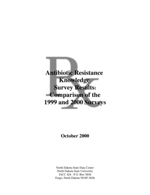 Fillable Online ndsu Antibiotic Resistance Knowledge