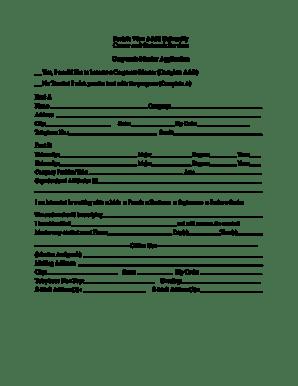 Fillable Online pvamu Corporate Mentor Application