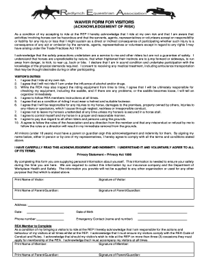 Bill Of Sale Form Georgia Horseback Riding Liability Release Form ...