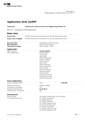 Fillable Online Application form mySNF Fax Email Print