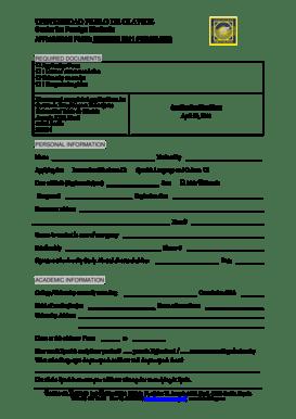 Fillable Online UNIVERSIDAD PABLO DE OLAVIDE Fax Email