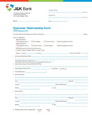 Jkbankonline Fill Online Printable Fillable Blank Pdffiller