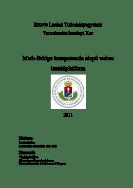 Fillable Online Math-Bridge kompetencia alap webes tanul