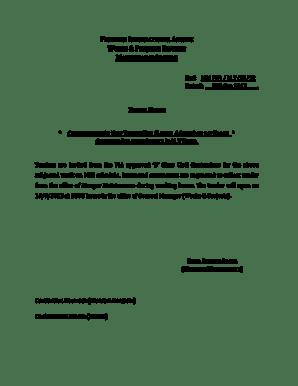 Fillable Online TENDER NOTIC. Scholarship application form