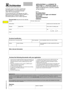 Fillable Online Download application form for application