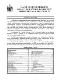 snowmobile bill of sale maine Forms and Templates ...