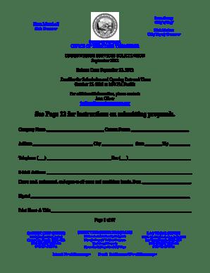 Fillable Online nevadatreasurer Kate Marshall State