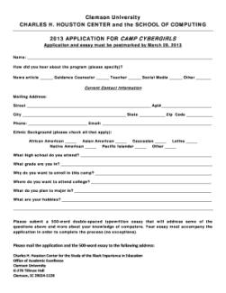 sample essay for scholarship application