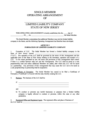 On the small business radio show this week, i interview attorney eric swan and discuss steps that companies c. 22 Printable Single Member Llc Operating Agreement Forms And Templates Fillable Samples In Pdf Word To Download Pdffiller