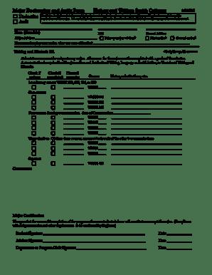 Fillable Online hws Writing and Rhetoric B.A. Major