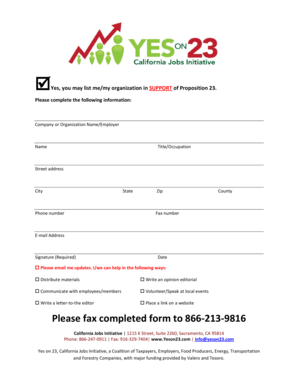 Fillable Online Yes, you may list memy organization in