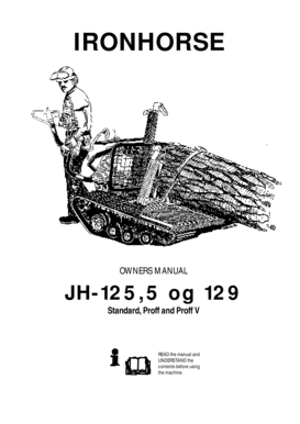 Fillable Online OM JH125 JH129 Iron Horse b2000b-05