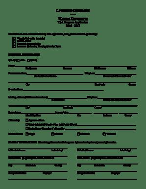 Fillable Online lawrence WASEDA UNIVERSITY TSA Program