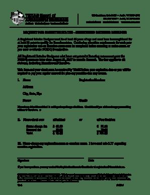 Fillable Online REQUEST FOR EMERITUS STATUS REGISTERED