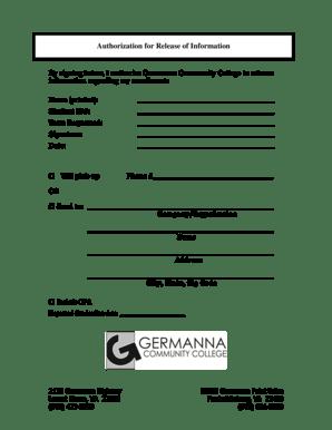 Fillable Online germanna 2130 Germanna Highway 10000