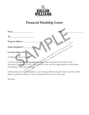 16 Printable medical hardship letter Forms and Templates