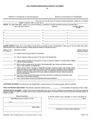 Editable single member llc resolution Form Templates to