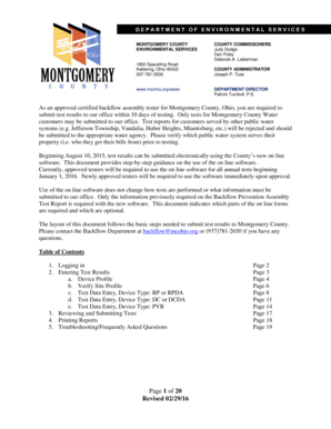 Fillable Online mcohio MONTGOMERY COUNTY COUNTY