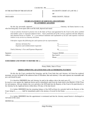 16 Printable personal sworn statement sample Forms and