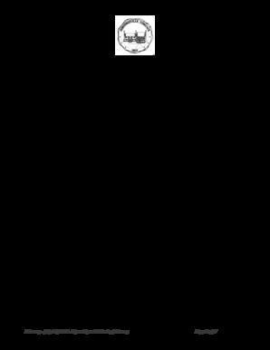 Fillable Online townofgordonsville Mayor Robert Coiner