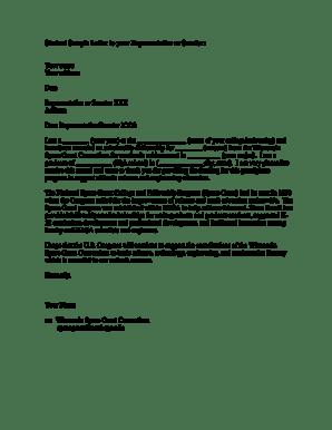 Egrant Carthage Sample Letter