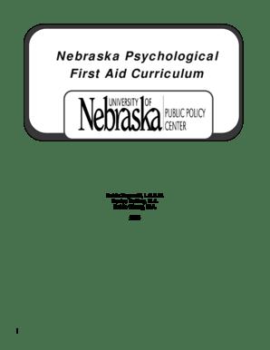 Fillable Online nebhands nebraska Nebraska Psychological