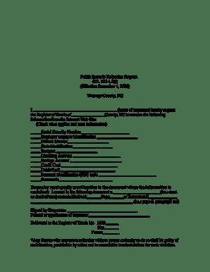 Fillable Online wataugacounty Public Records Redaction
