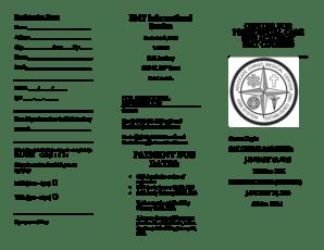 Fillable Online Registration Form EMT Informational