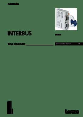Fillable Online Communication Manual E94AYCIB INTERBUS MXI