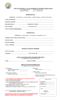 Fillable Online BTR Application 2011Revised 2014