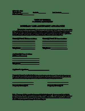 Fillable Online Boundary Line Adjustment Form & check list