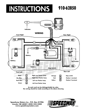Fillable Online 910-62850 Wiring Diagram