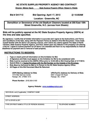 Nc State Surplus Agency