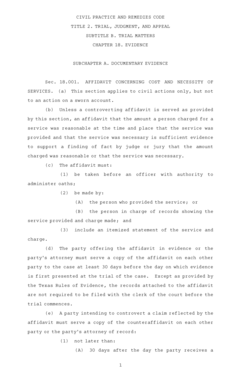 Fillable Online CIVIL PRACTICE AND REMEDIES CODE Fax Email