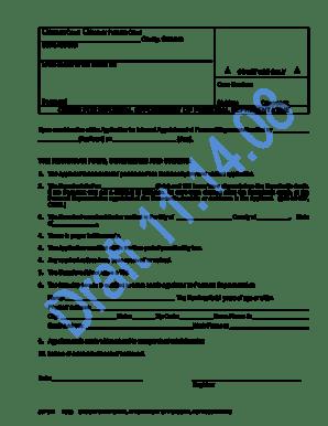 Fillable Online cobar JDF 917 Order for Informal