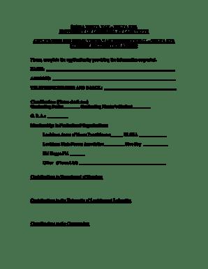 Fillable Online SIGMA THETA TAU DELTA ETA Fax Email Print