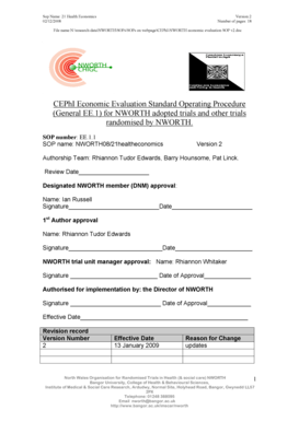 22 Printable standard operating procedure sample pdf Forms