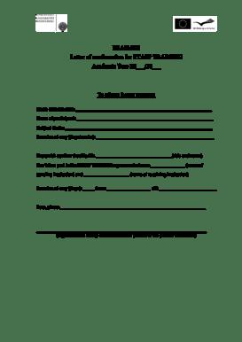 Fillable Online eu uni-hd ERASMUS Letter of confirmation
