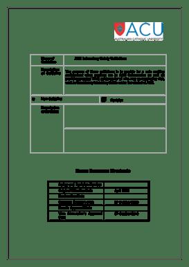 Fillable Online acu edu Human Resources Directorate