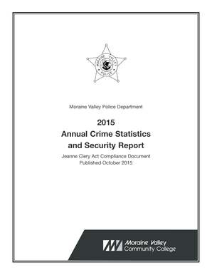 Fillable Online morainevalley Moraine Valley Police