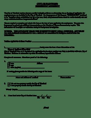 Bill Of Sale Form Texas Residency Affidavit Templates