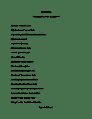 Fillable Online ache Appendix E, Page 1 APPENDIX E