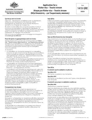 1419 Australian Application Form Australia Online