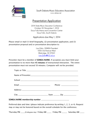 sample event proposal presentation Forms and Templates