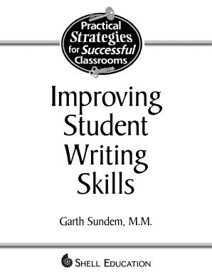Fillable Online gec kmu edu Improving Student Writing