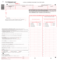 Earned Income Tax For Emmaus - Fill Online, Printable ...